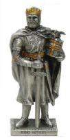 King Arthur Pewter Knight With Gold Accents